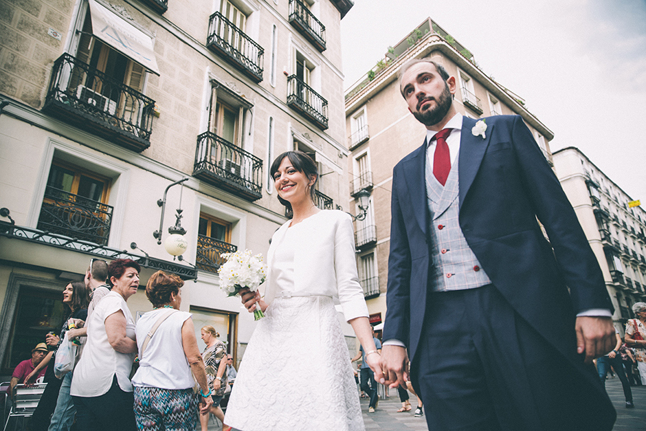 Professional wedding photographer Madrid - Palacio de Las Alhajas - Buenavista and Co.